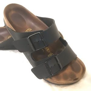 Birkenstock Black Leather size 39